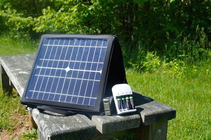 Hordozható #napelem - SunCache