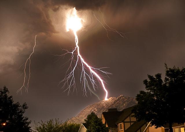 Mount Olympus Lightning Bolt