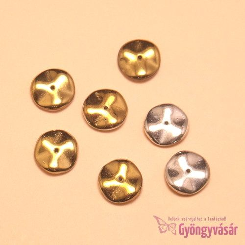 Fényűzés - Ripple™, 12 mm cseh gyöngy • Gyöngyvásár.hu