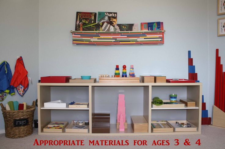 How to Organize a Montessori Homeschool Classroom from Montessori MOMents