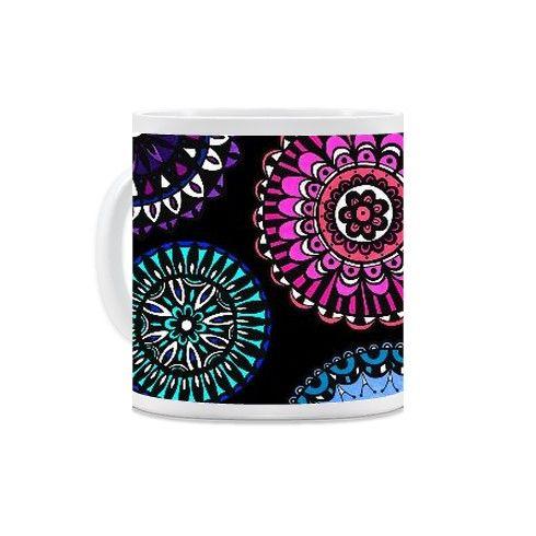 Doodle Flowers Mug by fayemaguire at zippi.co.uk