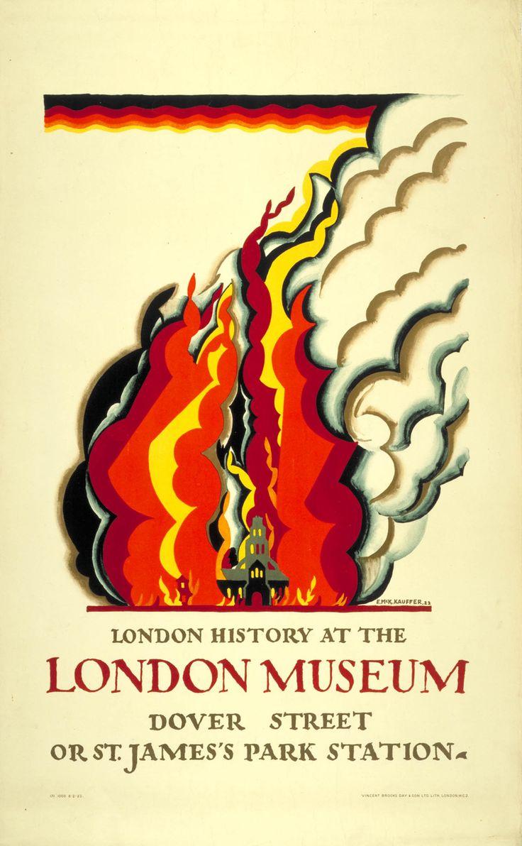 London Transport poster 1922, Edward McKnight Kauffer