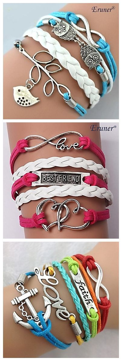 Beautiful bracelets for girls. Which one do you prefer?