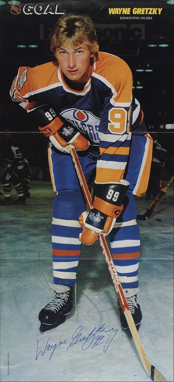 Gretzky, rookie year