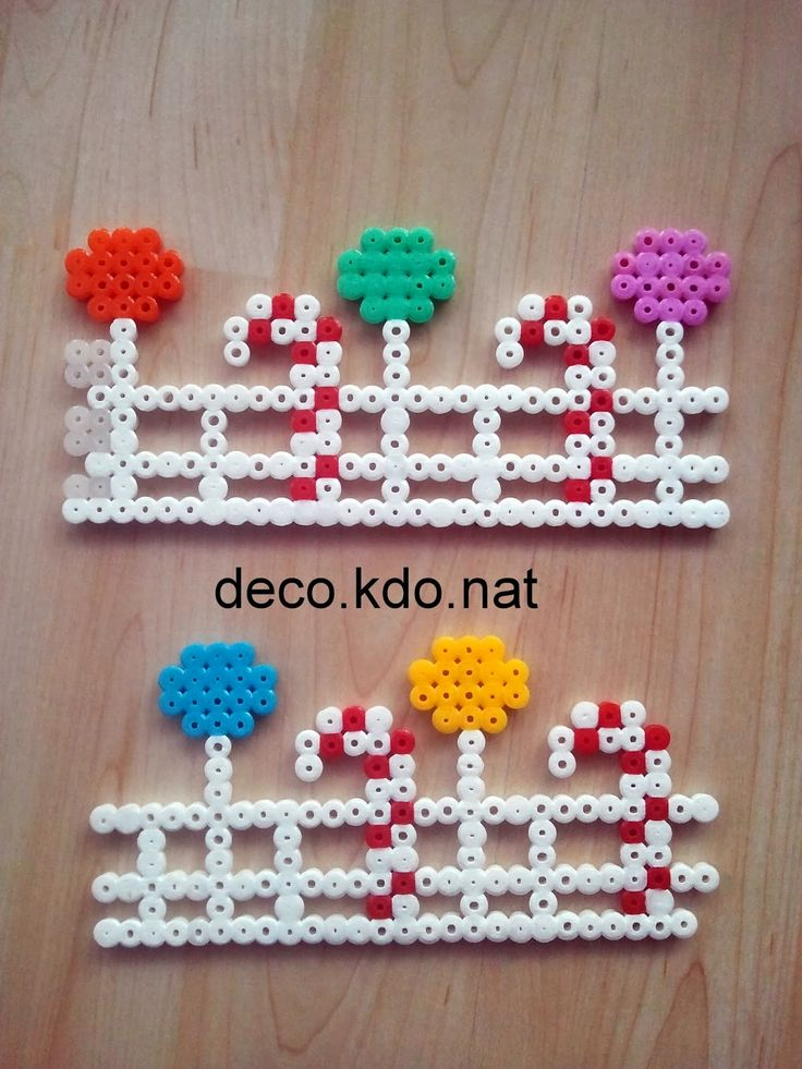 169 best images about hobby hama beads 3d on pinterest - Maison du pere noel ...