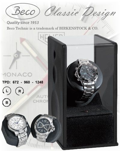 Beco Technic Uhrenbeweger BLACK EXPERT 1