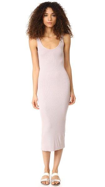 Enza Costa | US $145.00 | Ribbed Tank Dress