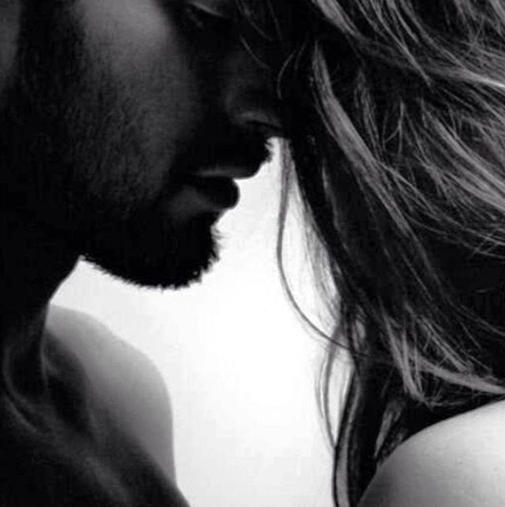 Paar, Kuss, Liebe, intim