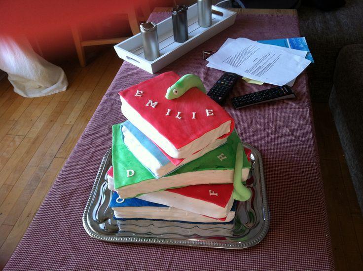 Birthdaycake for my cousin.