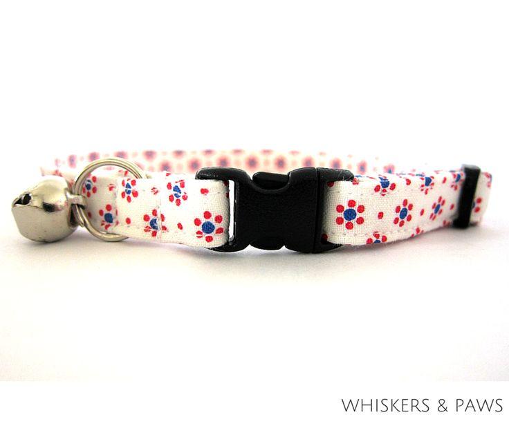 Ditsy Daisy Cat Collar