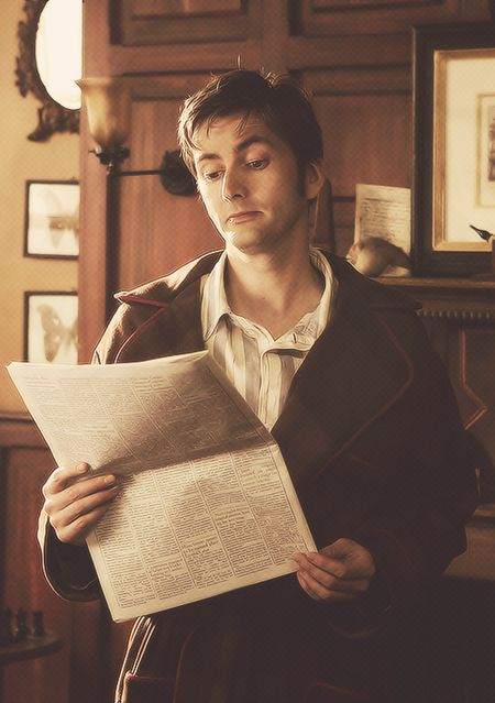 For all of you Whovians here is a little David Tennant. #doctorwho #wesleyancollegega