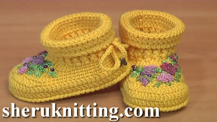 CROCHET SOLE FOR BABY UGG BOOTS We invite you to visit https://www.sheruknitting.com/ There are over 800 video tutorials of crochet and knitting in different techniques. Also, you can see unique authors' design in these tutorials only on a website and only for members  JOIN NOW  https://www.sheruknitting.com/membership.html 1.No advertising on all tutorials 2.Valuable in different devices 3.Step by step and detailed video tutorials 4.New courses added every week...
