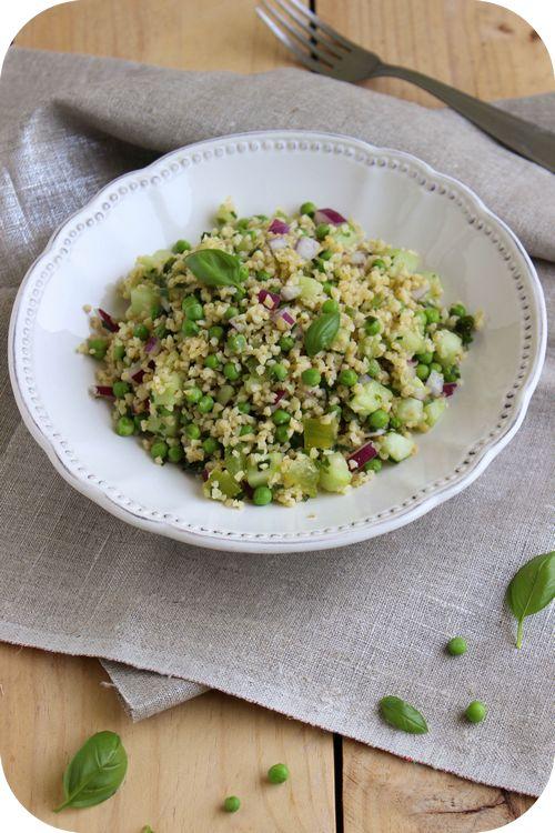 Taboulé de boulgour aux légumes verts (1)