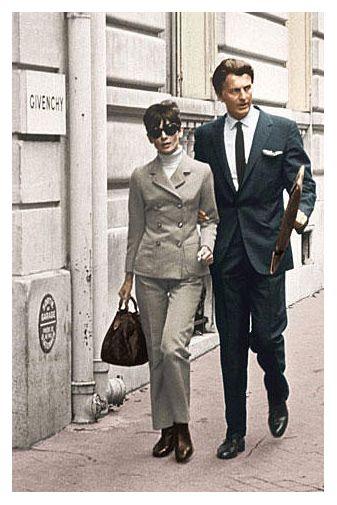 Audrey Hepburn loved Givenchy. Givenchy loved Audrey Hepburn.