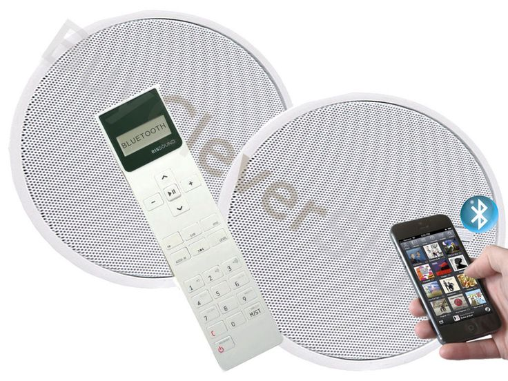 Bathroom Ceiling Speaker System My Web Value