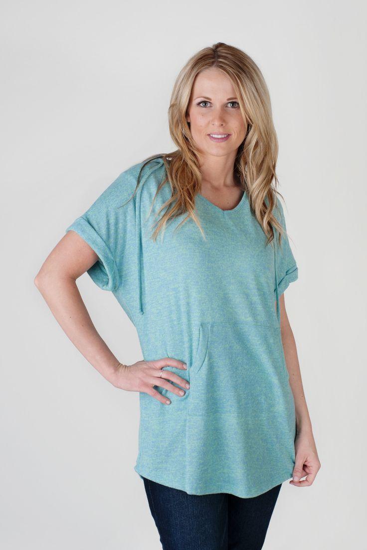 Short Sleeve Hoodies - 4 Colors