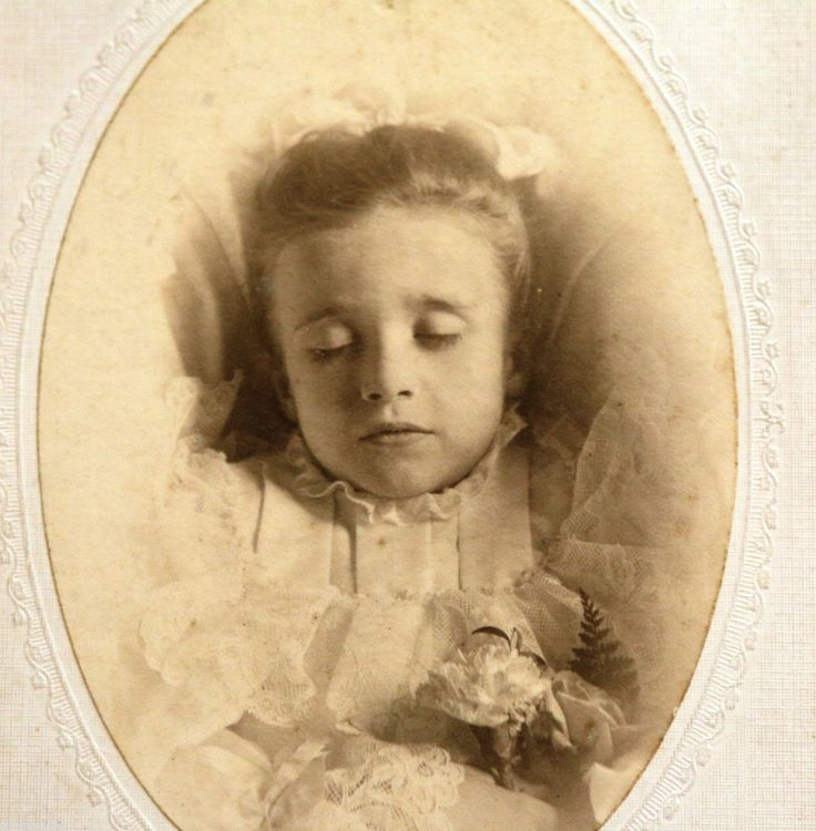 Victorian post mortem photography may seem strange, but for some families it was their only opportunity to have a memento of their loved one as photography was expensive at the time. Sometimes the dead were posed as if alive and sometimes are of children and babies due to the high death rate among this group at the time.