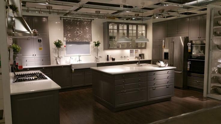 Best Ikea Kitchen Cabinets Bodbyn Display Atlanta Store 640 x 480