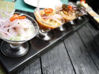 Loved #ceviche so much, had it thrice! Here is an upmarket version in a famous seafood resto #gourmettrails #seafood