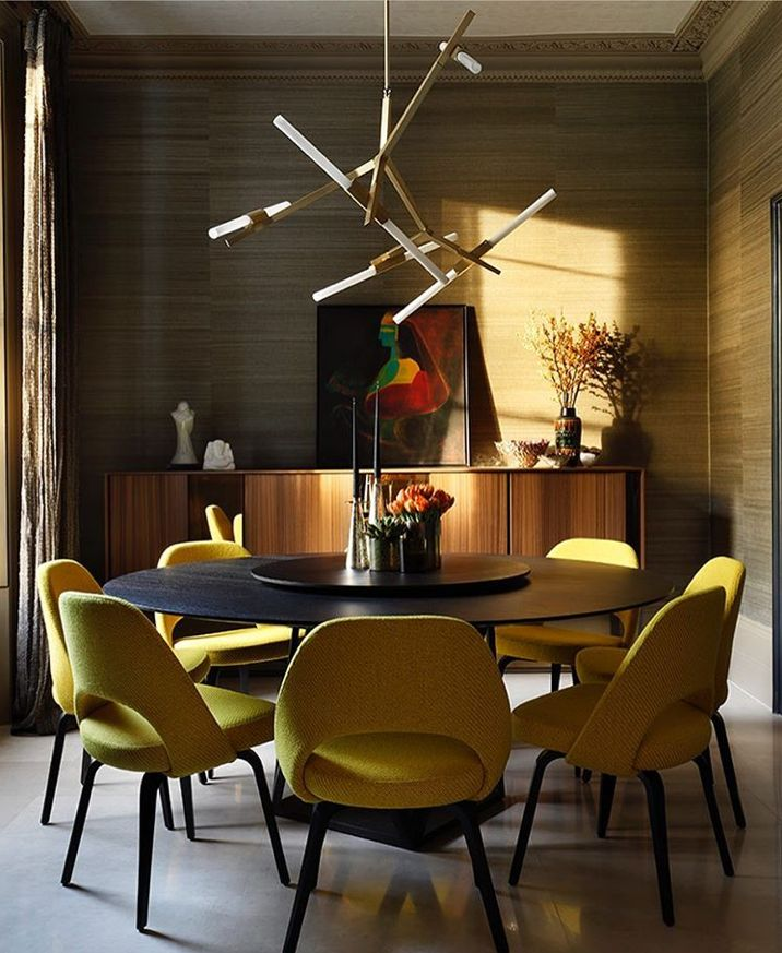 Outstanding Transitional Dining Room Suitable For Any Home: Dining Rooms In 2019