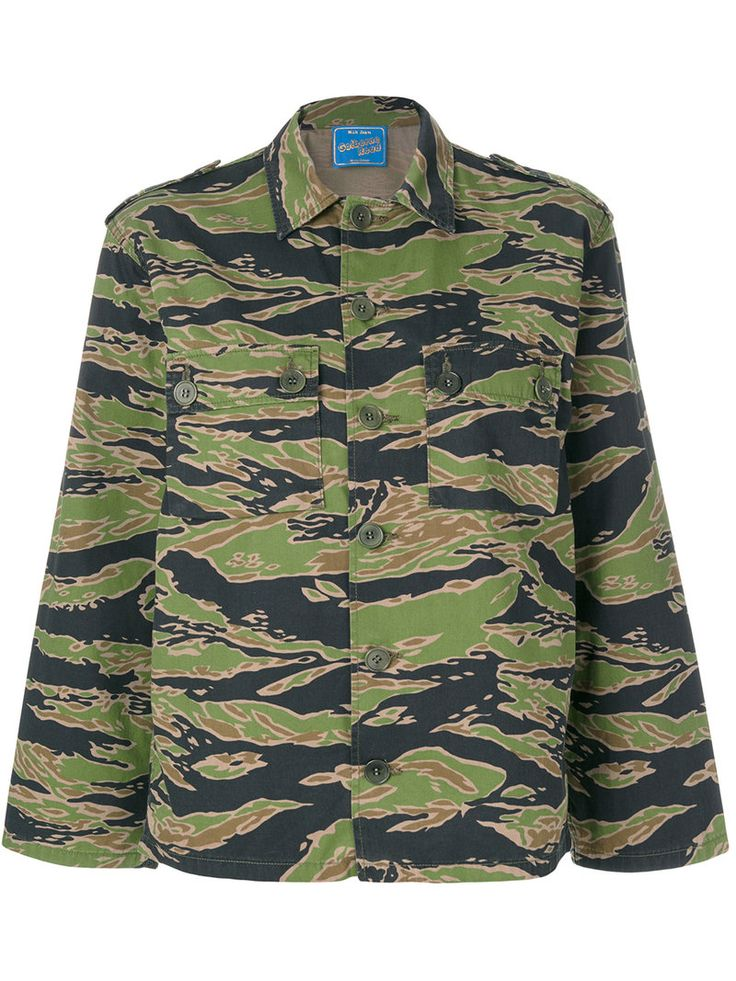 MIH JEANS MIH JEANS - TIGER CAMOUFLAGE SHIRT . #mihjeans #cloth #