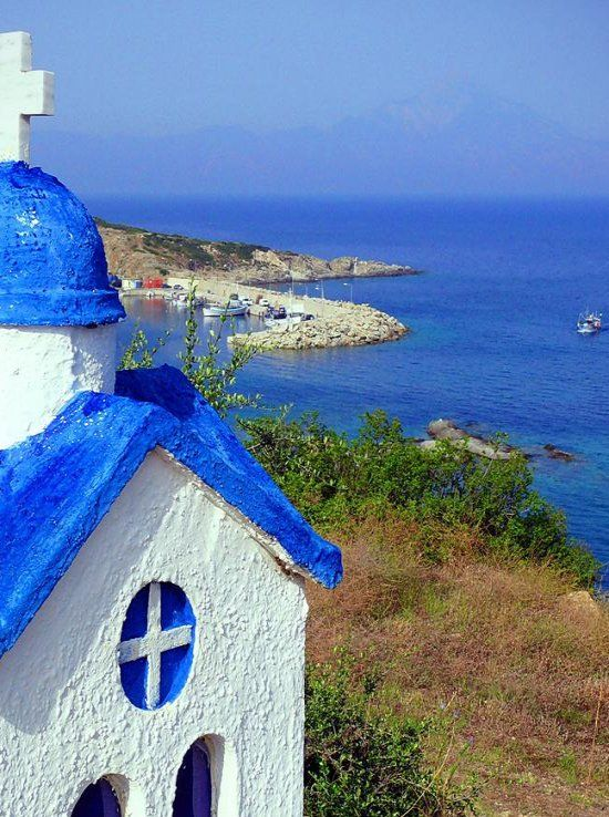 Small Chapel.. Sithonia (Halkidiki), Greece <3