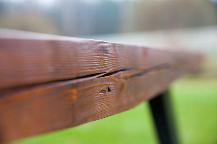 Кромка стола Лофт, естественная трещина