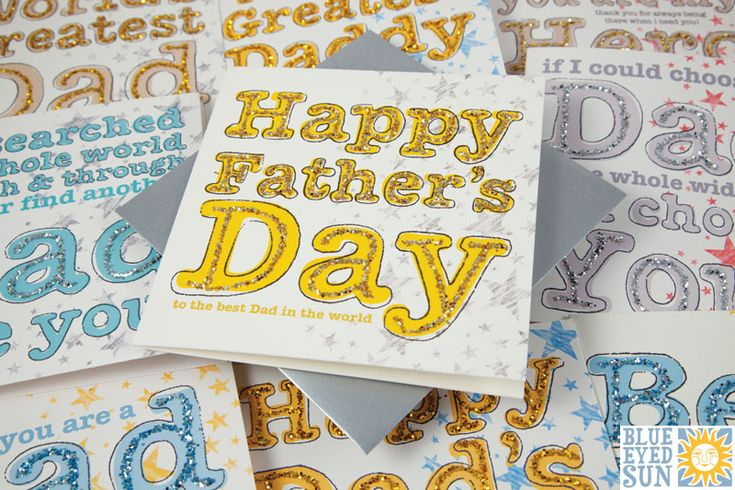 Razzle - Fathers Day cards from Blue Eyed Sun