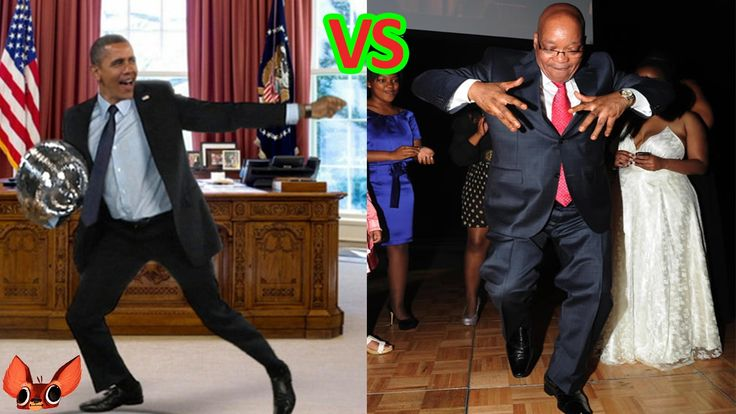 Obama VS Zuma DANCE OFF