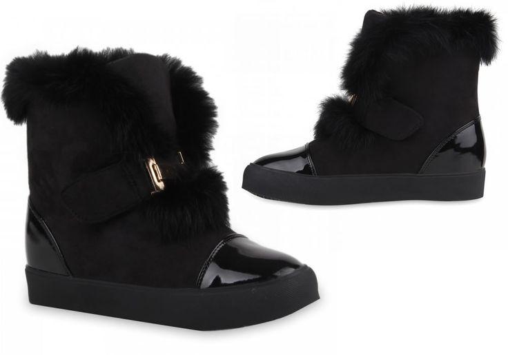 Dames Laarsjes met Bont Details DL050 | Modedam.nl* Shoe (model) Winter Boots* Color Zwart* Seizoen Winter* Feeding (voedsel zetmeel) warme voering* Feeding (hele) Ongespecificeerde* Upper Syn