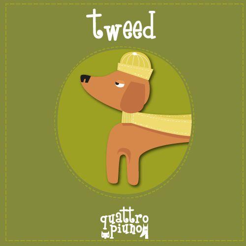 E il super #bassotto Tweed con la sua sciarpa gialla! #adorable #dog