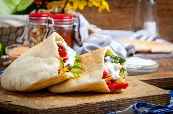 Pita Sandwich on Bachelor Recipe. Feed your body right with healthy sandwich contain lots of flavour and nutrition.