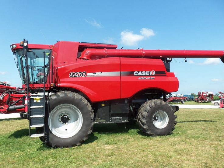 CaseIH 9230 Axial Flow combine.560/500hp from 787 cid