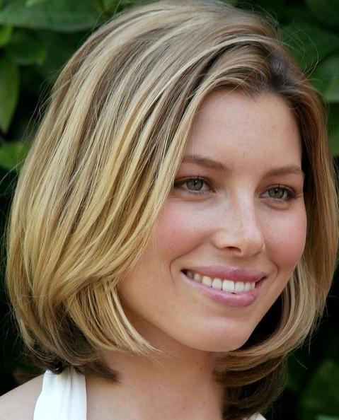 Jessica: Hair Ideas, Bobs Haircuts, Long Bobs Hairstyles, Jessica Biel, Shorts Bobs, Medium Bobs Hairstyles, Hair Style, Hair Looks, Hair Length