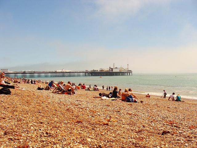 #Brighton, #beach UK