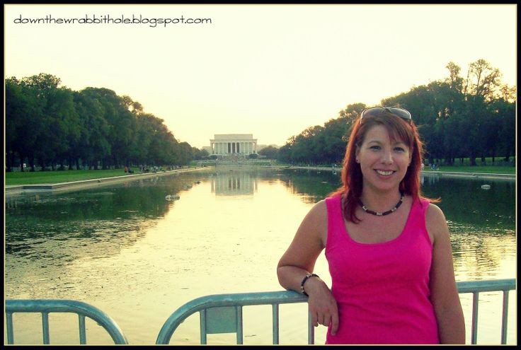 "Visit the Reflecting Pool in Washington DC at twilight - the best time to see it! Find out more at ""Down the Wrabbit Hole - The Travel Bucket List"". Click the image for the blog post."
