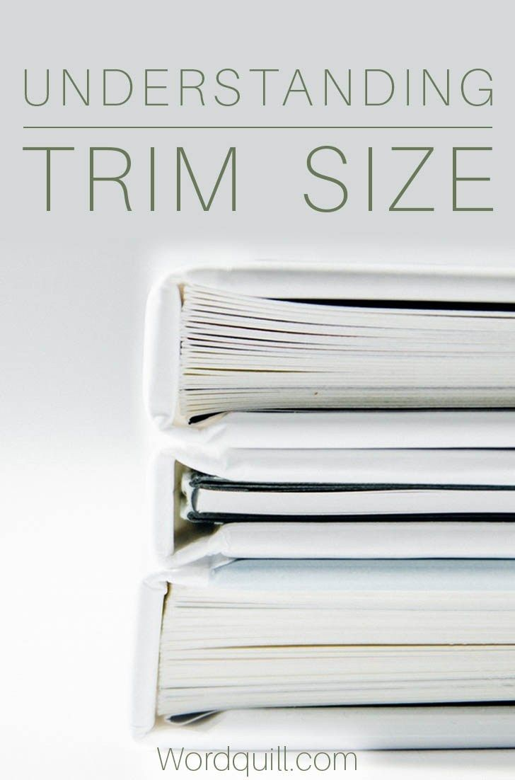What trim size should I use? Understanding trim size when