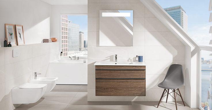 La salle de bain mansardée - Venticello, Squaro Edge 12