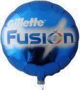 Reklametryk på folieballon.