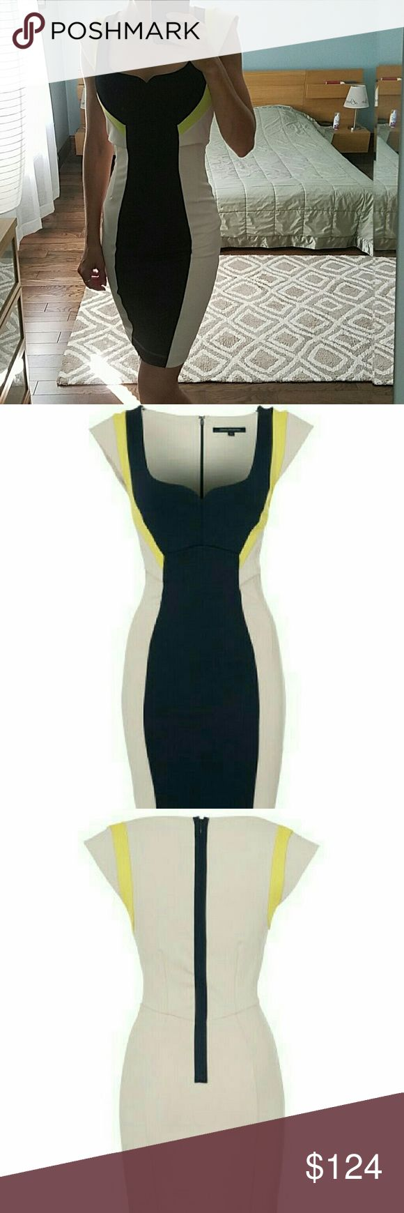 FRENCH CONNECTION DRESS New with tag. Perfect condition.  Nice slimming thick material. French Connection Dresses Mini