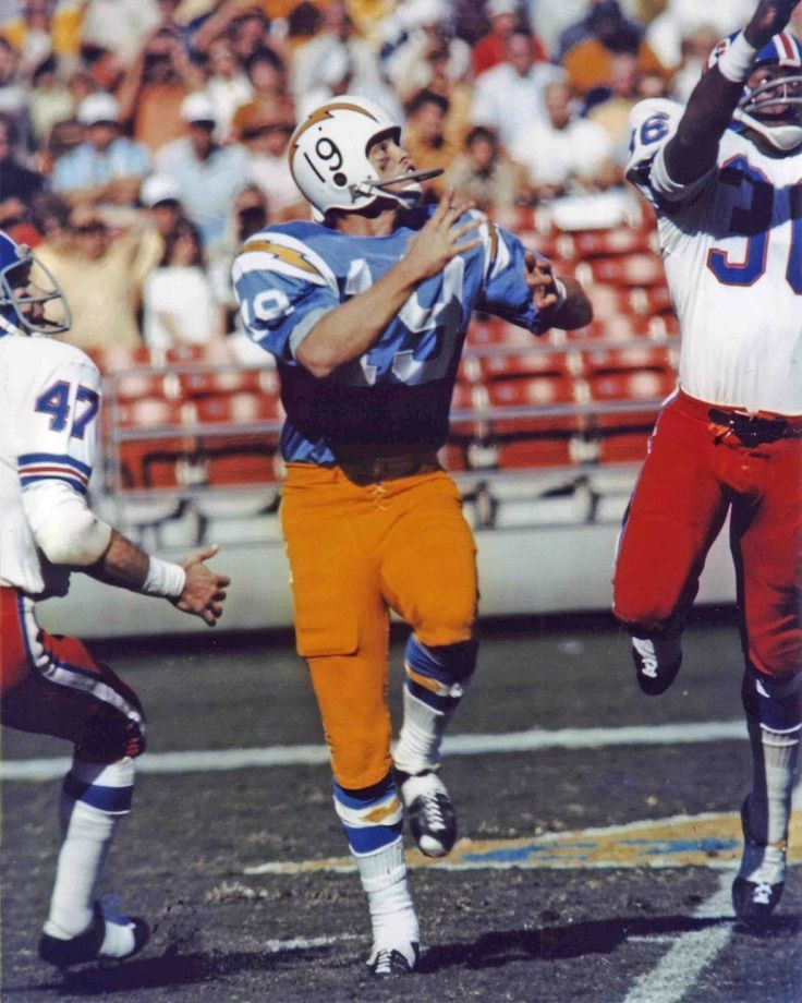 San Diego Chargers Colors: Lance Alworth San Diego Chargers 1962-70 And Dallas