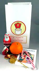 """Saint Nicholas is real, teach them about him and do something fun. When they begin to question if Santa is fictional, a real """" Santa"""" is still there forever. Also helps keep real meaning of Christmas gifts."""