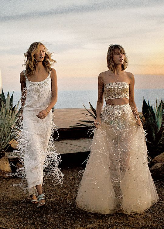 Taylor and Karlie for Vogue Magazine 2015