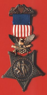 Private Thomas Evans was awarded the Medal of Honor, November 26th 1864 for his actions at Piedmont, Virginia.