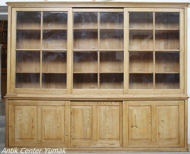 Spectacular Jugendstil Regal B cherregal Bibliothek Schrank Vitrine Buffet Sideboard Antik in Antiquit ten u Kunst Mobiliar u