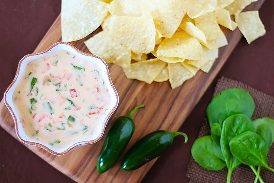 espinaca con queso: Cheese Spinach, Spinach Dips, Espinaca Dips, White Cheese Dips, Appetizers Gameday, My Friends, Gimmesomeoven Com Appetizers, White Cheese, Gimme Some Oven