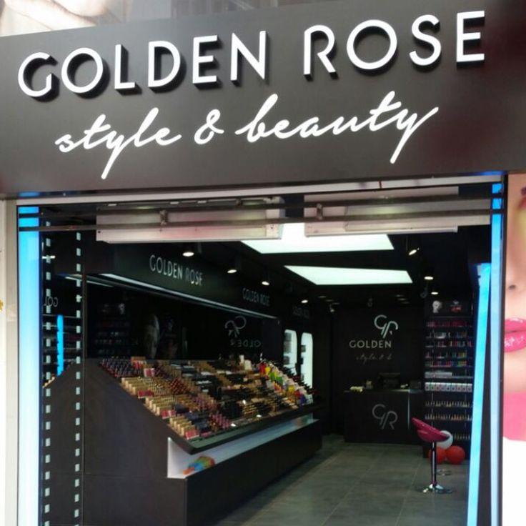 Kusursuz güzelliğin büyülü dünyası Golden Rose, şimdi en yeni mağazası ile Küçükçekmece/Cennet'de. Tüm Golden Rose tutkunlarını bekliyoruz.