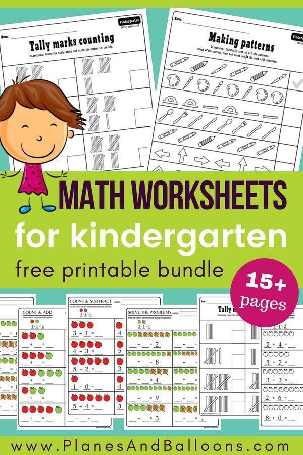 15 Kindergarten Math Worksheets Pdf Files To Download For Free Kindergarten Math Worksheets Free Kindergarten Math Worksheets Kindergarten Math Printables