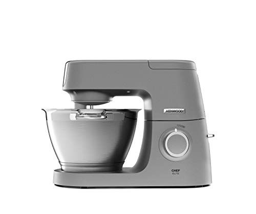Kenwood Kvc5320s Chef Elite Kuchenmaschine Aluminium 4 6 Liters Silber De Longhi In 2020 Kuchenmaschine Ruhrschussel Kuche