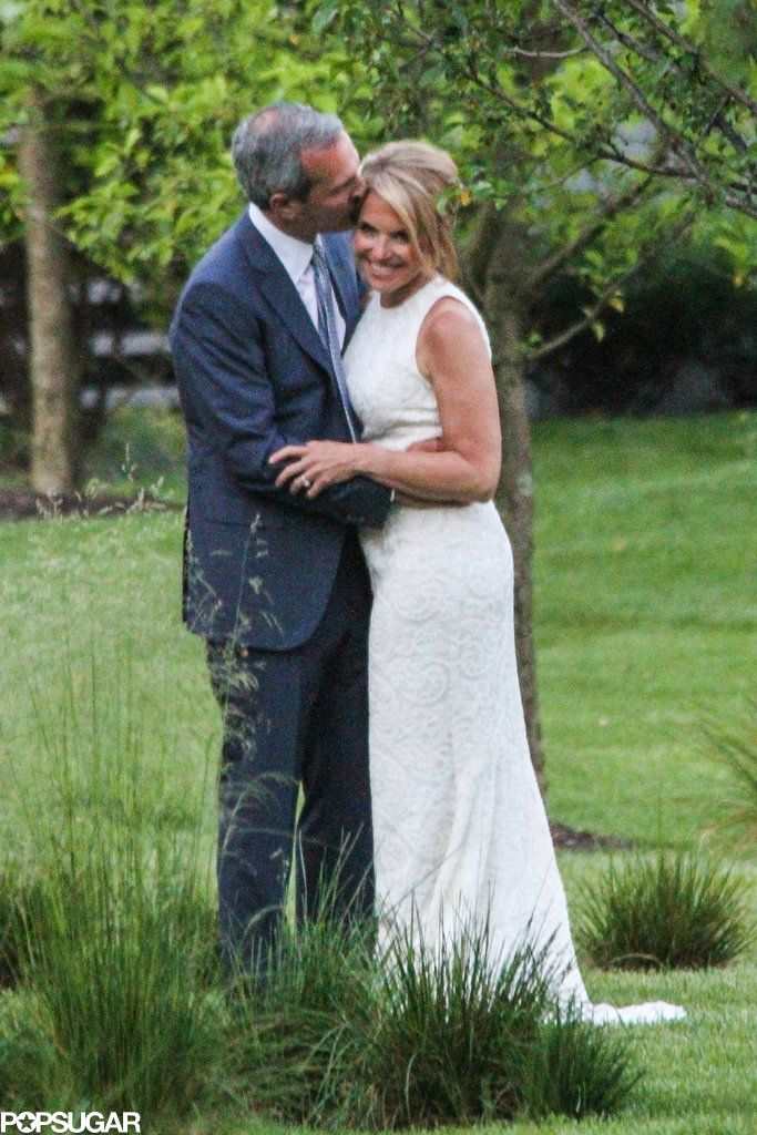 Just look at how happy Katie Couric was on her wedding day.